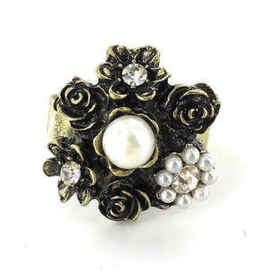 Sage / Ring / Pearl Bouquet
