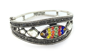 Young Women Jeweled Cuff Bracelet