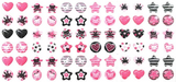 Pastel Party 288 Piece (144 pair) Pair Stick-on Earrings