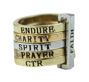 A954, R511 Rings of Faith Ring (size 6)