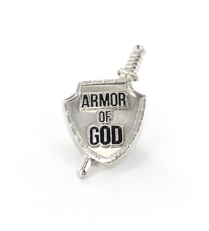 Armor of God - Tie Tack