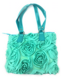 Tropical Green Scripture Purse