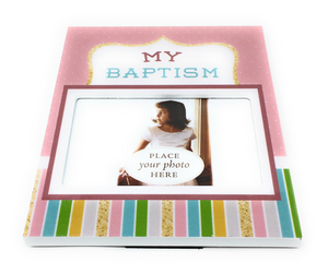 Baptism Picture Frame - Girl
