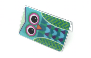 Owl - Temple Recommend Holder - 3D