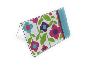 Bright Flowers - Temple Recommend Holder