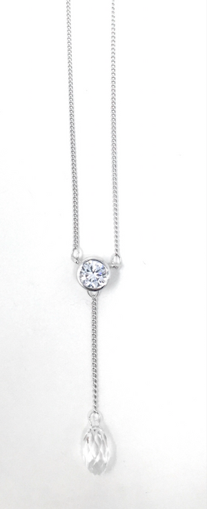 Raindrop Necklace - Swarovski Crystal