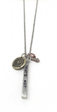 Keep Moving Forward - Necklace