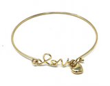 Love the Lord - Bracelet - Gold