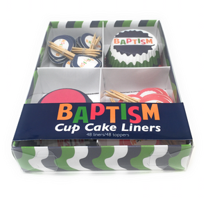 Baptism - Cupcake Liners & Toppers - Box Set