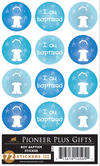 I Am Baptized - Stickers - Boy