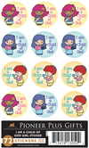I Am a Child of God - Stickers - Girl