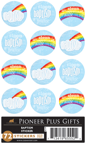 Baptism - Stickers