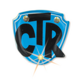 CTR - Tie Tack - Light-Up - Blue