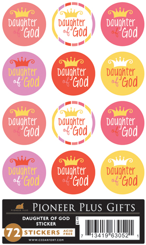 Daughter of God - Stickers