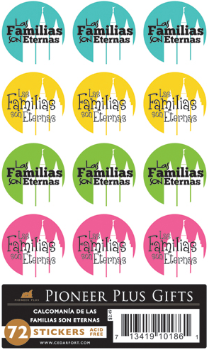 Families Are Forever - Stickers - Spanish