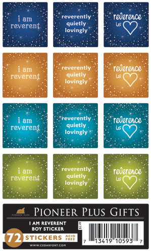 I Am Reverent - Stickers