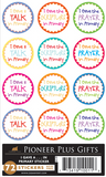 I Gave A Talk, Scripture or Prayer in Primary - Stickers