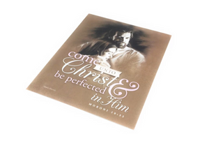 Come Unto Christ - Print - 5x7 - Young Woman