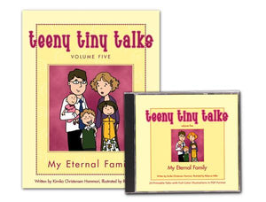 Teeny Tiny Talks Vol. 5: My Eternal Family Set - Paperback + CD