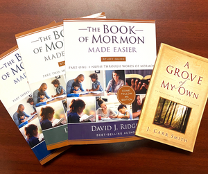 David Ridges - Come Follow Me Book of Mormon Made Easier Study Guide w/ FREE A Grove of My Own - LIMITED TIME ONLY