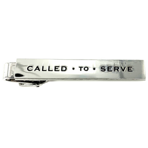 Called To Serve Tie Bar