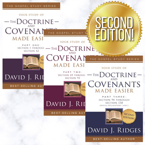 Doctrine and Covenants Made Easier Vol. 1-3 - 2nd Edition - Full Set