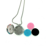Soothing - Essential Oil Diffuser - Necklace - Locket