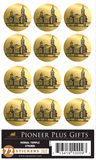 Vernal Temple - Stickers - Metallic