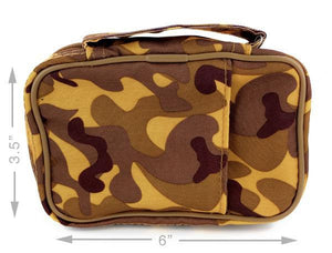 Scripture Tote with Pocket - Brown Camo