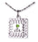 D652 Necklace CTR Birthstone Aug-- Peridot
