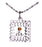 D655 Necklace CTR Birthstone Nov-- Topaz