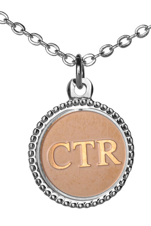 D153 Necklace Choose/Right Tutone
