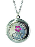 C646 Locket / Sparkle CTR / Pink