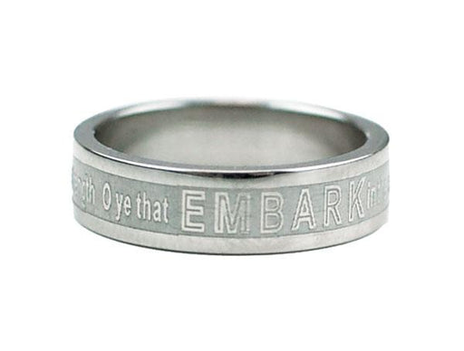 Embark in Service of God Ring