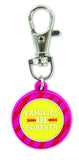 Families Are Forever Zipper Charm Girl