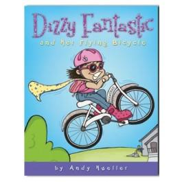 Dizzy Fantastic and Her Flying Bicycle - Paperback