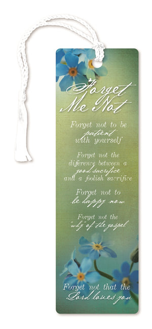 G132 Bookmark / Forget-Me-Not
