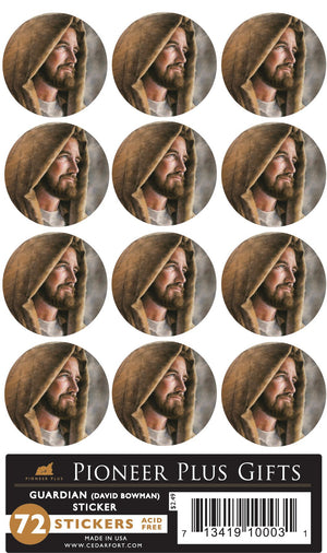Guardian Stickers - Small Round