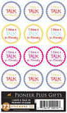 I Gave A Talk In Primary Stickers