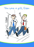 Jon Clark Greeting Card - Elder Missionary