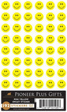 B535 Sticker Yellow Smiley / mini