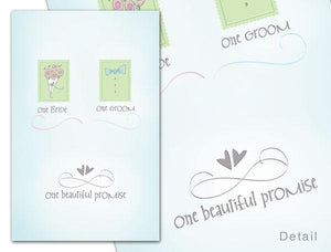 E341, E314 Greeting card / One Beautiful Promise