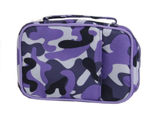 Scripture Tote with Pocket - Purple Camo