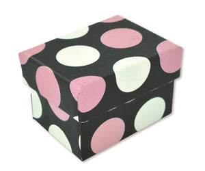 C354 Ring Box-Polka Dot
