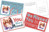 You Were Missed Primary Postcards (10pk)