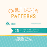 Quiet Book Patterns - Templates and Printable Images