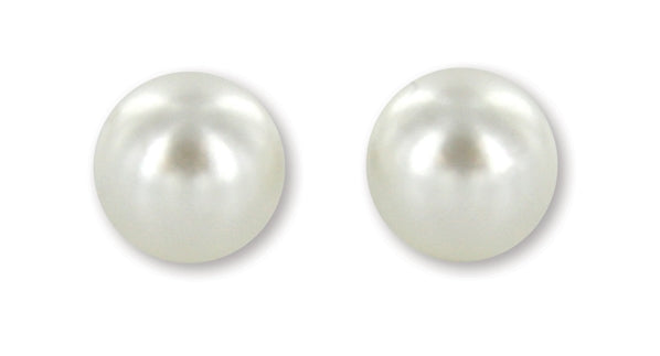 C722 Sage / Earring / Simple Pearl