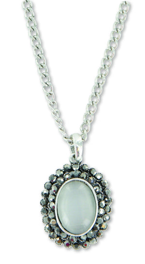 C754, S752 Sage / Necklace / Vintage Opal