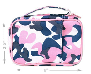 Scripture Tote with Pocket - Pink Camo