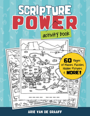Scripture Power Activity Book